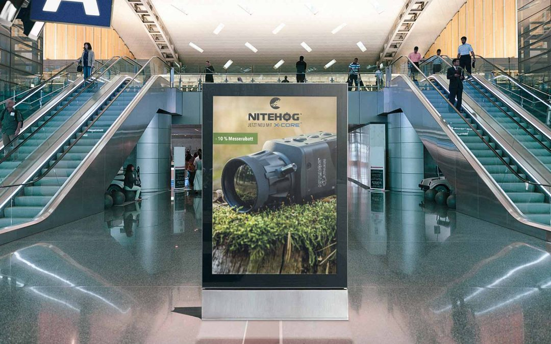 Nitehog Messe Kampagne